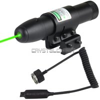 air soft scope - Tactical nm Green Laser Sight For Gun Pistol Scope mounts Remote Switch Hunting Scopes Air Soft Tactical