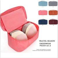 Wholesale Korean Waterproof Cosmetic bags Underwear Bra Makeup Make up Cosmetic bags Organizer Storage Bags Travel Bags Handbags Tote