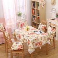 Wholesale Table Cloth Tablecloth Table Cover High Quality Pastoral European Style for Home Decoration More size