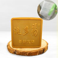 Wholesale 100 natural camellia oil handmade soaps for all Kinds of skin pregnant women and Baby