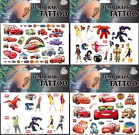 Wholesale psc MIXED Children sticker Cartoon custom hand skin Tattoos Stickers waterproof