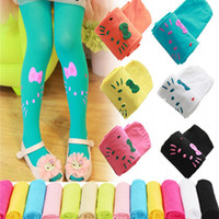 baby render - Spring Girl Render Children Pantyhose Tights White Stockings Candy Baby Dance Velvet Socks Drop Shipping