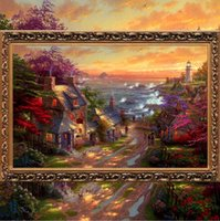 2016 Needlework Craft Home Decor French Dmc Quality Counted Cross Stitch Kit Set Diy Oil Painting High Country Retreat