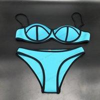 agent provocateur - 2016Sexy trangle Swimwear bikini womens bandage bikinis set push up swimsuits secret bathing suits agent provocateur bikini Q520