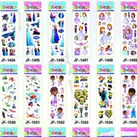 Wholesale 10000 Poke Pikachu Sticker cm D Cartoon party Decor book Stickers Avenger paper game children s sticker toys more styles