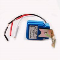 Wholesale AC DC V A Auto On Off Photocell Light Switch Photoswitch Light Sensor Switch for solar lamps and lanterns cars motorcycles