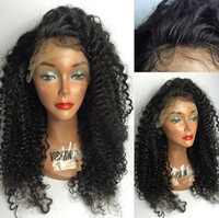 arrival curl wigs - Brazilian deep wave hair wigs New arrival natural curl full lace human hair wig for black women lace front deep wave wigs