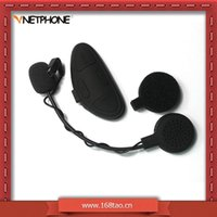 Wholesale Motorcycle helmet intercom m intercommunicating bluetooth earphones headset rainproof windproof