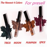 Wholesale Dropshipping colors Spice Trick Moon Pumpkin Smile High copy quality Kylie Lip Kit by kylie jenner Velvetine Liquid Matte Lipstick