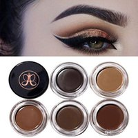 Wholesale Eye Brow Makeup Blonde Auburn Chocolate Dark Brown Ebony Waterproof Eyebrow Highly pigmented