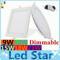 aluminum cas - Dimmable Led Panel Light W W W W W Angle Led Recessed Downlights Cabinet Lighting AC V V CE ROHS UL CAS
