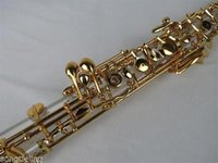 Wholesale Great concert Crystal tube body semiautomatic oboe gold plating C keyprof Grea