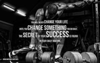 art work digital - A815 GYM Body Building Keep Fit Muscle Exercise Work Out Art Silk Poster Room Wall Decor x36inch