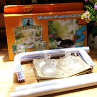 Wholesale New Window Mount Cat Bed Pet Hammock Sunny Seat Pet Beds With LOGO Color Box Package