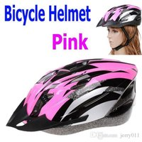 Wholesale Hot Sale Cycling Bicycle Adult Bike Handsome Carbon Helmet of High quality with Visor Pink