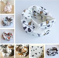 Wholesale 2015 Kids Baby Toddler Scarves Neck Wraps Ring Scarf Shawl Neckerchief Patterns pieces