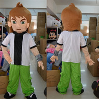ben ten costumes - OISK Ben Ten Ben Mascot Costumes Cartoon Character Christmas Birthday Party Fancy Dress Carnival Outfit Adult