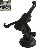 Wholesale Car Mount Holder Bracket Windshield Stand for iPad Air for Inch Tablet PC Holder Stand Degree Rotation