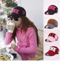 Wholesale 2016 Fashion Women Sports Caps Headwears Outdoor Baseball Hats Snapbacks White Pink Black etc Brand Designer