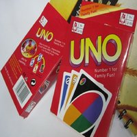 Wholesale 108 Cards Family Funny Entertainment Board Game UNO Fun Poker Playing Cards Puzzle Games Brand New