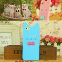 apple intelligence - New D Cute nd Koko Cat intelligence control Butterfly Soft Silicone Cases for iPhone back cover Ear can Open the screen