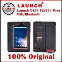 Wholesale 100 Original launch scanner x431 v pro Free Update By Internet X V x431v pro Bluetooth WiFi Global Version auto car diagnostic scanner