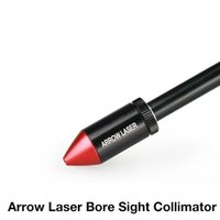 arrow rifle - New Arrival Hunting Tactical Arrow Laser Sight Collimator For Rifle Scope