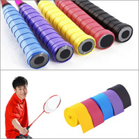badminton gear - Anti slip Racket Over GripsTennis Badminton Fishing Rods Anti slip Absorption Racket Handle Tape Overgrip