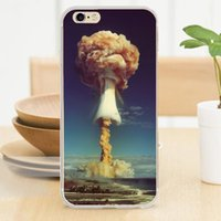 atomic cover - Atomic bomb View Soft TPU Rubber Silicone Clear Case Cover for iPhone S S SE C Plus