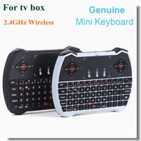 Wholesale Genuine Mini G Wireless Air Mouse Keyboard Touchpad Handheld Gaming Air Mouse for Android TV Box Laptop PK Rii i8 for T95N Mini M8S