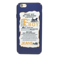 apple iphone europe - Vogue letter apple S mobile phone shell creative SPLUS iphone6 Europe and America tide brand