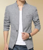 Wholesale Men s leisure small suit collar suit cultivate one s morality