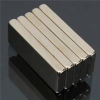 5pcs N52 fort rectangulaires aimants en néodyme 25x10x3mm Bloc NdFeB Rare Earth