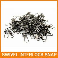 Соединитель Lure seamline character ring superacids материал рыболовные принадлежности небольшие аксессуары BARREL SWIVEL WITH INTERLOCK SNAP