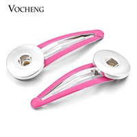 Wholesale VOCHENG NOOSA Candy Colors Hairgrips mm Ginger Snap Hair Clip for Girls NN