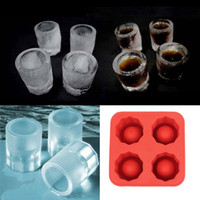 Wholesale Cool Ice Tray Party Shooters Supplies Shot Glasses N E5M1