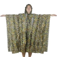 advanced camo - Series Outdoor Activities Ghillie Suit Advanced D Leaves Camo Ghillie Suit Outdoor Hunting Shooting Photography Ghillie Suit
