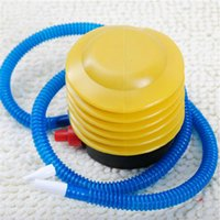 Wholesale air Inflator Swimming ring Floating island Inflator Foot Pumps Wedding Supplies Easy to carry plastic inflatable pump Inflators kids toy
