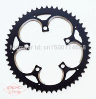 bicycle parts chainwheel - Bicycle Parts Bicycle Crank Chainwheel Vitesse BCD T Aluminum alloy chainring crankset black color alloy table