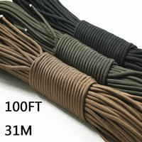 Wholesale Paracord Parachute Cord Lanyard Rope Mil Spec Type III Strand FT m Climbing Camping survival equipment Climbing rope
