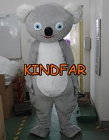 australian fancy dress - Australian Koala Mascot Costume Adult Size Fancy Dress Cartoon Character Outfit Suit