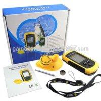 Wholesale Portable Dot Matrix Wireless Sonar Sensor LUCKY Fish Finder Alarm Transducer amp Audible Fish Alarm Depth Sounder m ft