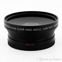 67mm 0.43x Lente Gran Angular y Macro para cámaras DSLR el cañón Nikon Sony Olympus SLR