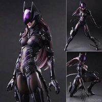 action figuren - 2016 HOT Square Enix Play Arts Kai DC BATMAN Catwoman Selina Kyle Action Figure Figuren