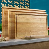 Wholesale Cutting Board Solid Wood Panel Knife Board Kneading And Panel Rolling The Panel