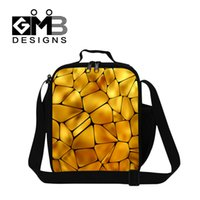 baby food adults - 2016 Honeycomb Pattern Lunch Bag For Kids Lunchbox Women Small Food Handbag Waterproof Picnic Bag Baby Lunch Cooler For Adult