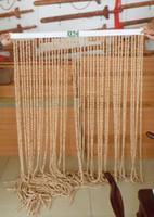 bamboo door beads - The new Feicheng peachwood evil spirits transfer beads made of Shashi Shashi toilet flush door curtain curtain wood hyacinth