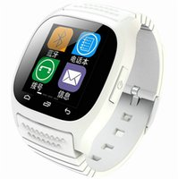 Puce Bluetooth Montre Smartwatch M26 avec Baromètre d'affichage LED Alitmeter Music Player podomètre pour Android IOS Mobile Phone