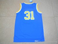 authentic college basketball jerseys - Blue College Basketball Authentic Jerseys men basketball jerseys Size S XXL Mix order Free fast shipping
