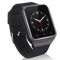 al por mayor cámara del reloj del mp3 mp4-ZGPAX S8 3G WCDMA de doble núcleo Smart Watch Teléfono Android 4,4 512M RAM + 4G ROM 5MP Cámara GPS WiFi MP3 MP4 FM Teléfono de registro de la agenda